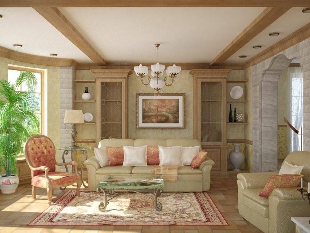 Гостиная в стиле кантри (98 фото): дизайн интерьера зала в деревенском стиле