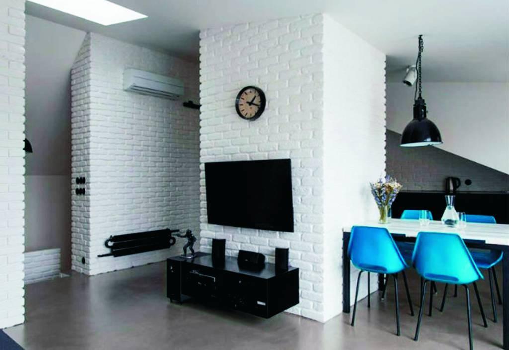 Декоративный кирпич для внутренней отделки +75 фото в интерьере - «декор»
