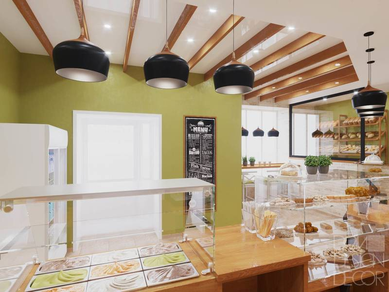 Дизайн-проекты интерьера кондитерской - «нежилые помещения»