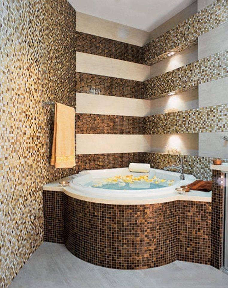 Мозаика для ванной - 100 фото лучших вариантов оформления дизайна