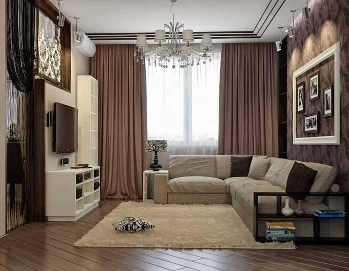 Гостиная 20 кв. м: 150 фото вариантов дизайна зала с одним или двумя окнами