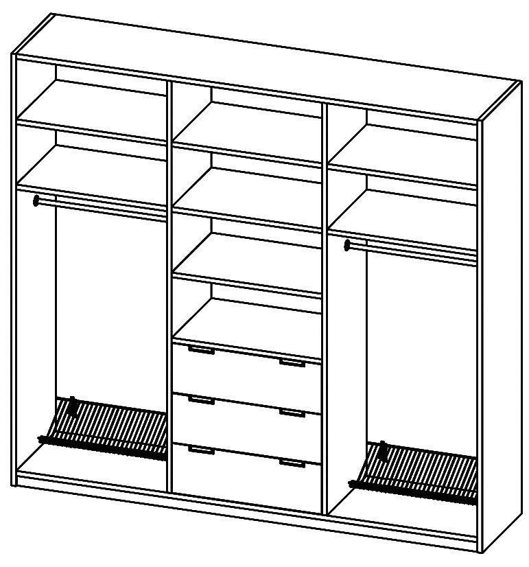 Идеальный шкаф купе для прихожей
