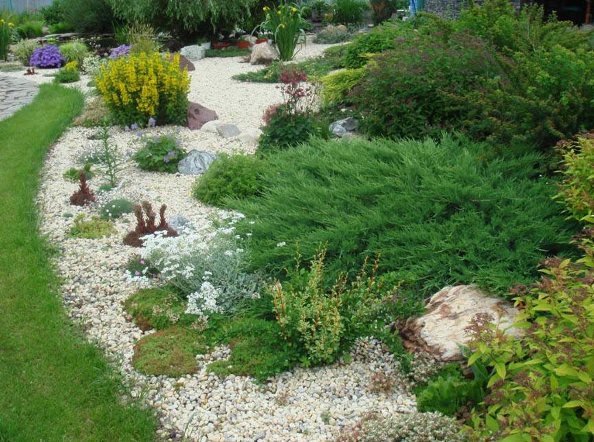 Как и чем украсить садовый участок