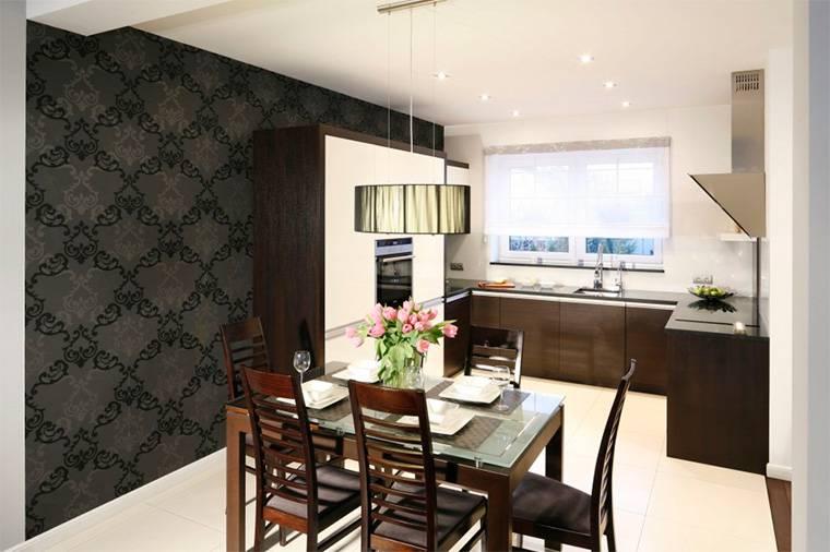 Обои для кухни — самые красивые и стильные варианты обоев в интерьере. узнайте как отделать кухонное помещение правильно с этой статьей (фото и видео)