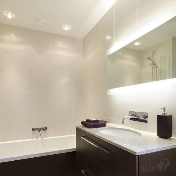 Освещение в ванной: правильная организация подсветки в ванной (140 фото примеров)