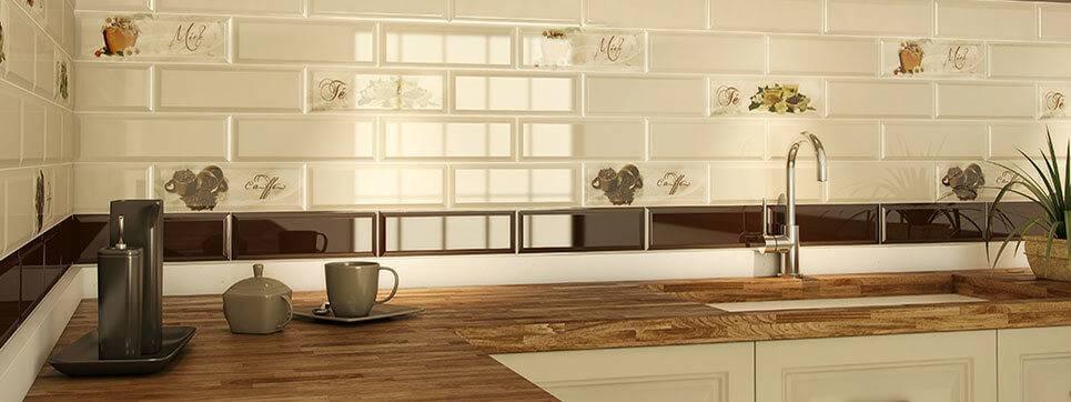 Керамическая плитка для кухонного фартука (реальные фото)