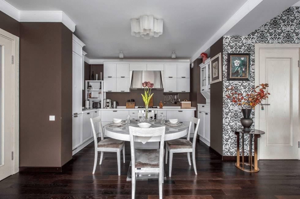 Обои для кухни — какие выбрать. 125 фото дизайна в современном стиле