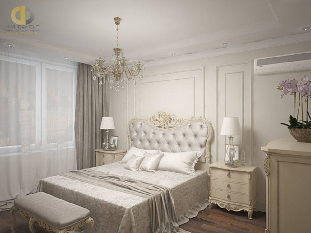 Светлые тона в интерьере спальни (реальные фото)