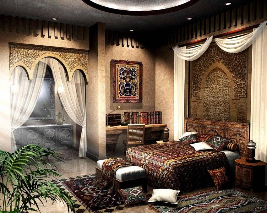Восточный стиль в интерьере квартиры или дома +55 фото - «стили» » все о сауне