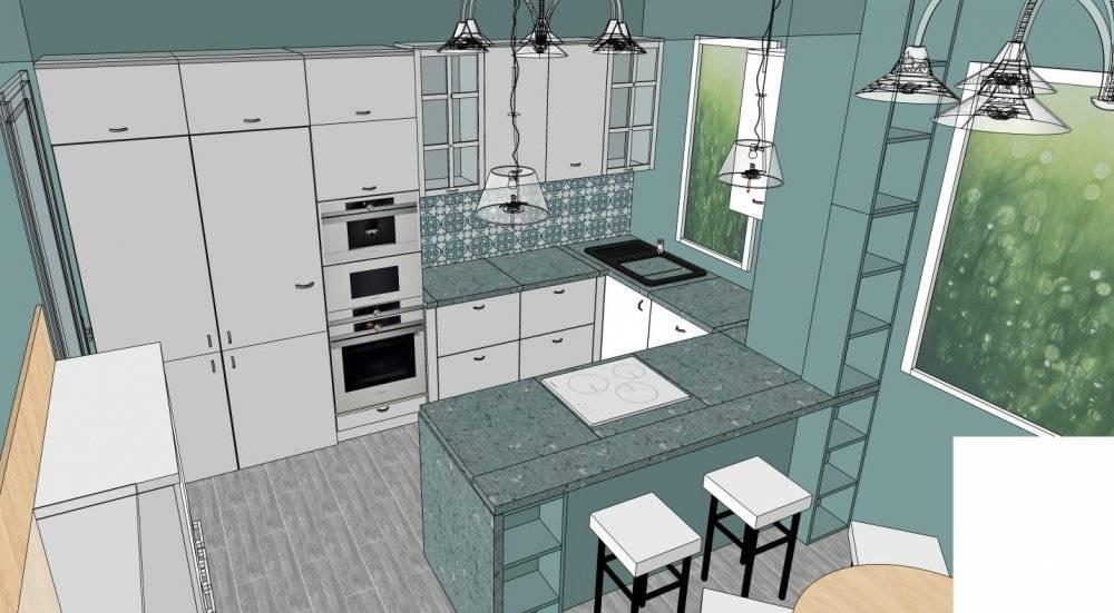 Маленькая кухня: дизайнерские решения для новичков (75 фото)