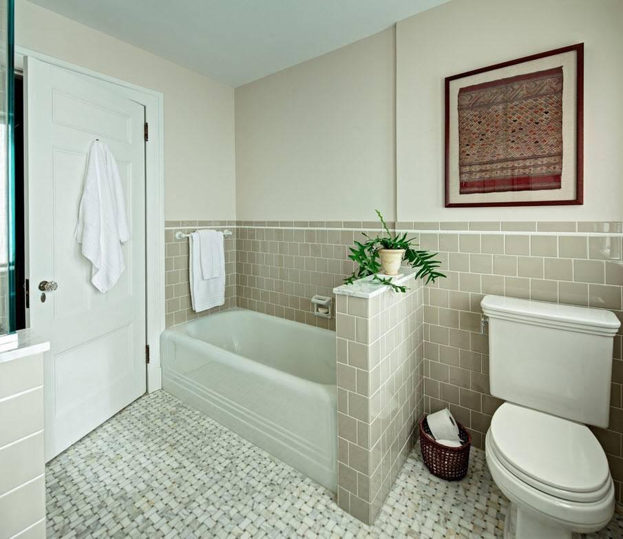 Ванная без плитки: идеи отделки и варианты оформления комнаты (50 фото) | дизайн и интерьер ванной комнаты