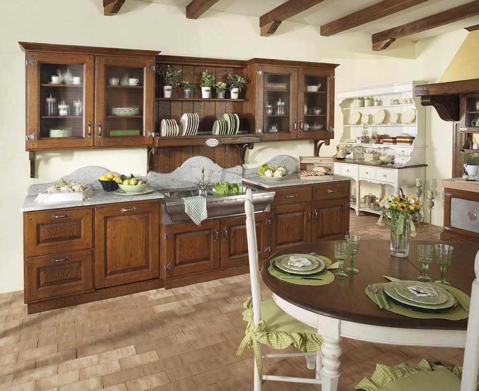 Кухня в стиле кантри (75 фото) – выбираем материалы и декор для уютного интерьера