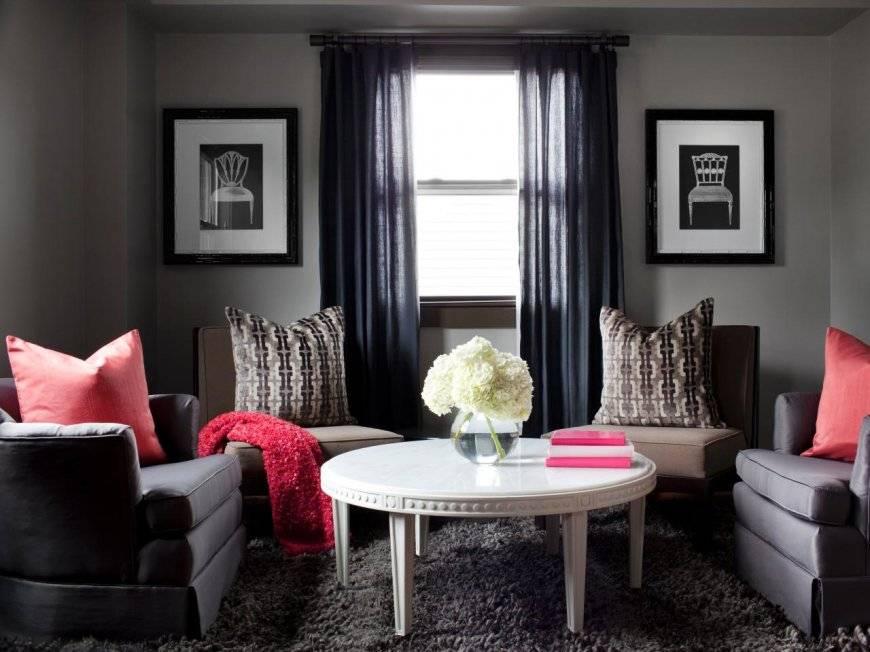 Интерьер в серых цветах – модные тенденции, идеи (+130 фото)