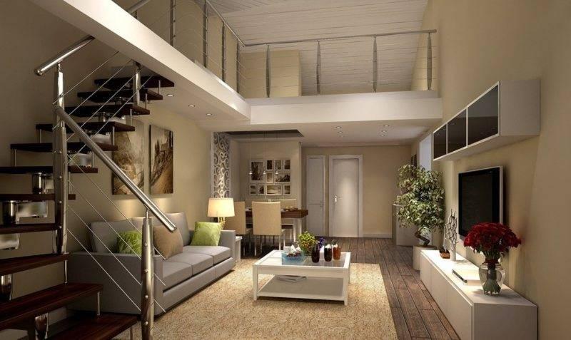Пространство под лестницей в частном загородном доме: идеи - 37 фото