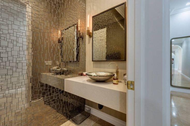 Мозаика для ванной: вдохновляющие идеи для использования в ванной (70 фото)