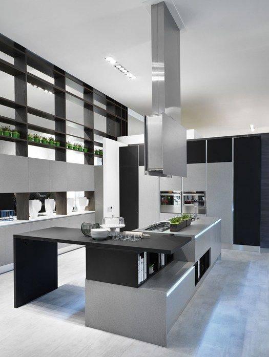 Какой должна быть кухня в стиле хай-тек?