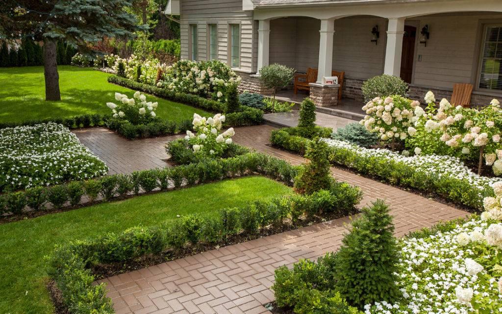 Приусадебный участок (73 фото): дизайн своими руками. что это такое? оформление участка в частном доме красивыми цветниками и другим декором