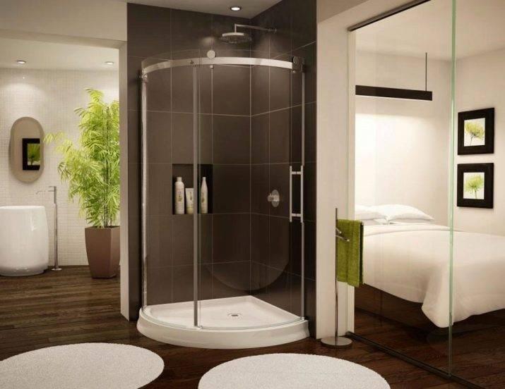 Как оформить дизайн ванной комнаты 3 кв.м. (75 фото)