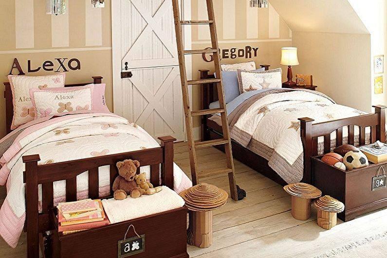Дизайн комнаты для двух подростков (45 фото). психологический аспект интерьера. разновидности оформления