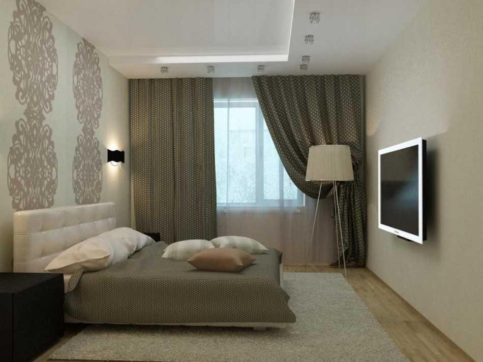 Спальня 3 на 4 - примеры уютного и красивого дизайна в спальне