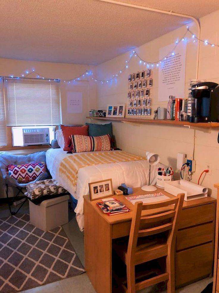 Дизайн комнаты в общежитии: как выбрать декор и мебель