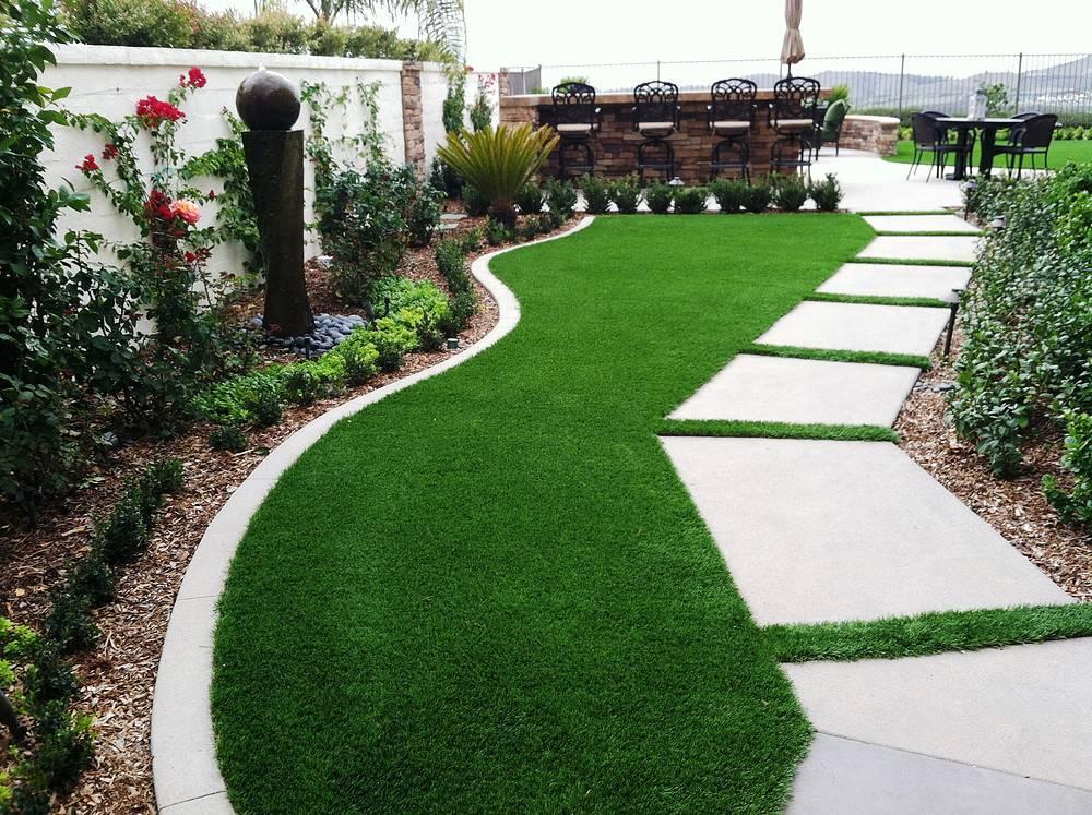 Рулонный газон - технология укладки: как уложить, как осуществлять подготовку земли и постелить, устройство участка