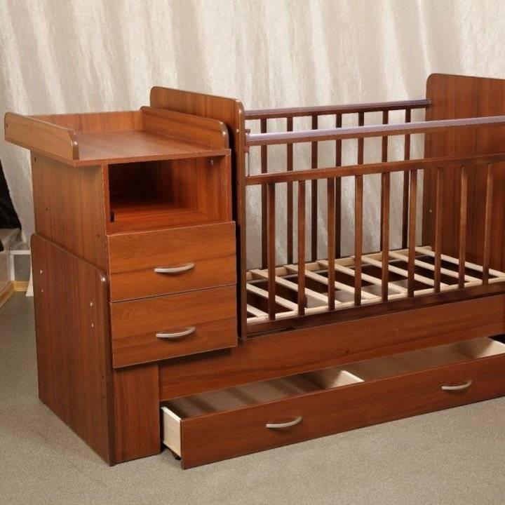Выбираем пеленальный столик для новорожденного — современный и функциональный