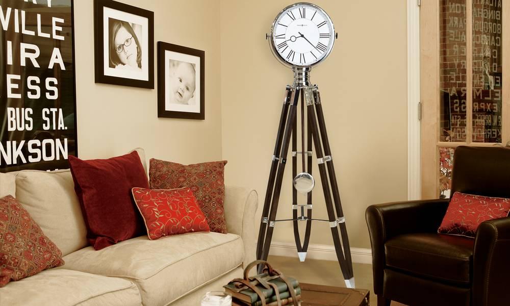 Настенные часы в гостиной: практичные советы по выбору стиля, типа, размещения