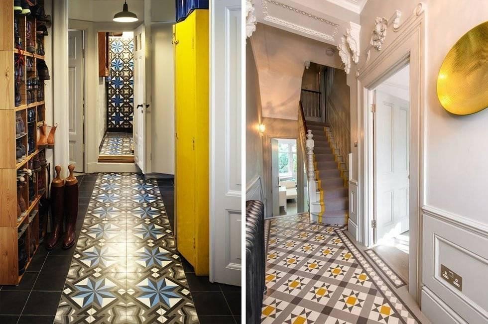 Напольная плитка для кухни и коридора (47 реальных фото): выбираем дизайн и способ укладки