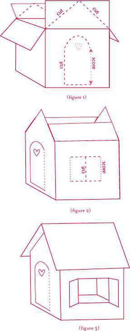 Как сделать домик своими руками :: инфониак