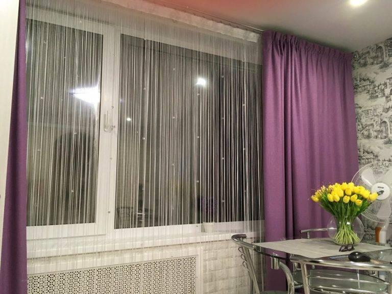 Нитяные шторы: 120 фото новинок дизайна. примеры удачного сочетания и оформления