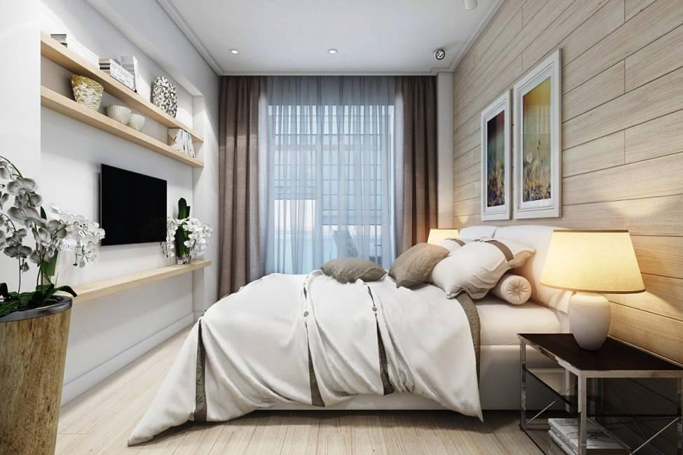 Варианты оформления спален 7-8 кв. м