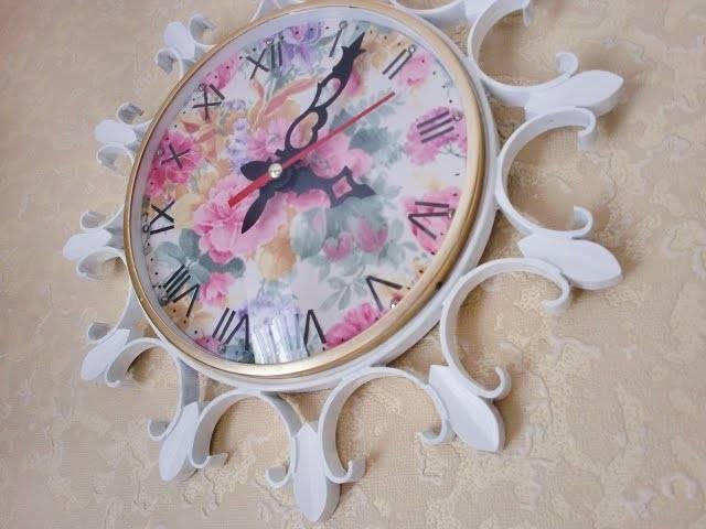 """10 идей для декора настенных часов своими руками - журнал """"сам себе изобретатель"""""""