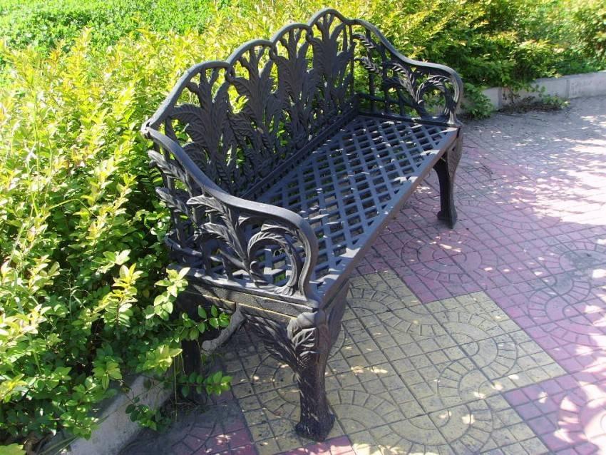 Чертежи с размерами скамейки из профильной трубы: 80 фото