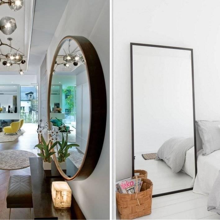Зеркало в спальне — как и где правильно разместить. новинки дизайна + 140 фото