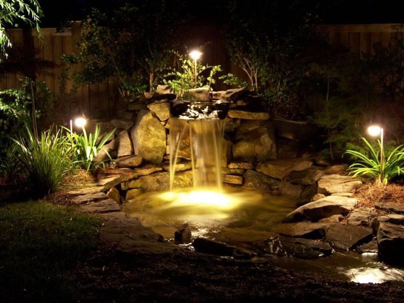 Как сделать декоративный фонтан и водопад — sad-fialok.ru — про сад и цветы