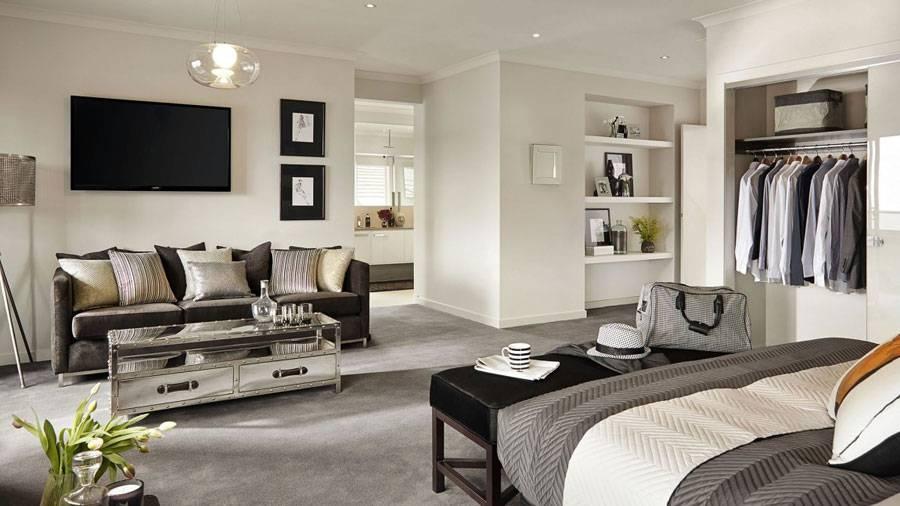 Черно-белая спальня: 145 фото идей применения в дизайне интерьера