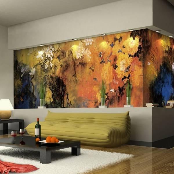 Что можно нарисовать на стене в комнате. красивые рисунки на стену в комнате своими руками – нетривиальный современный декор интерьера