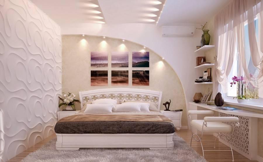 Дизайн спальни - 200 лучших фото интерьера спальни