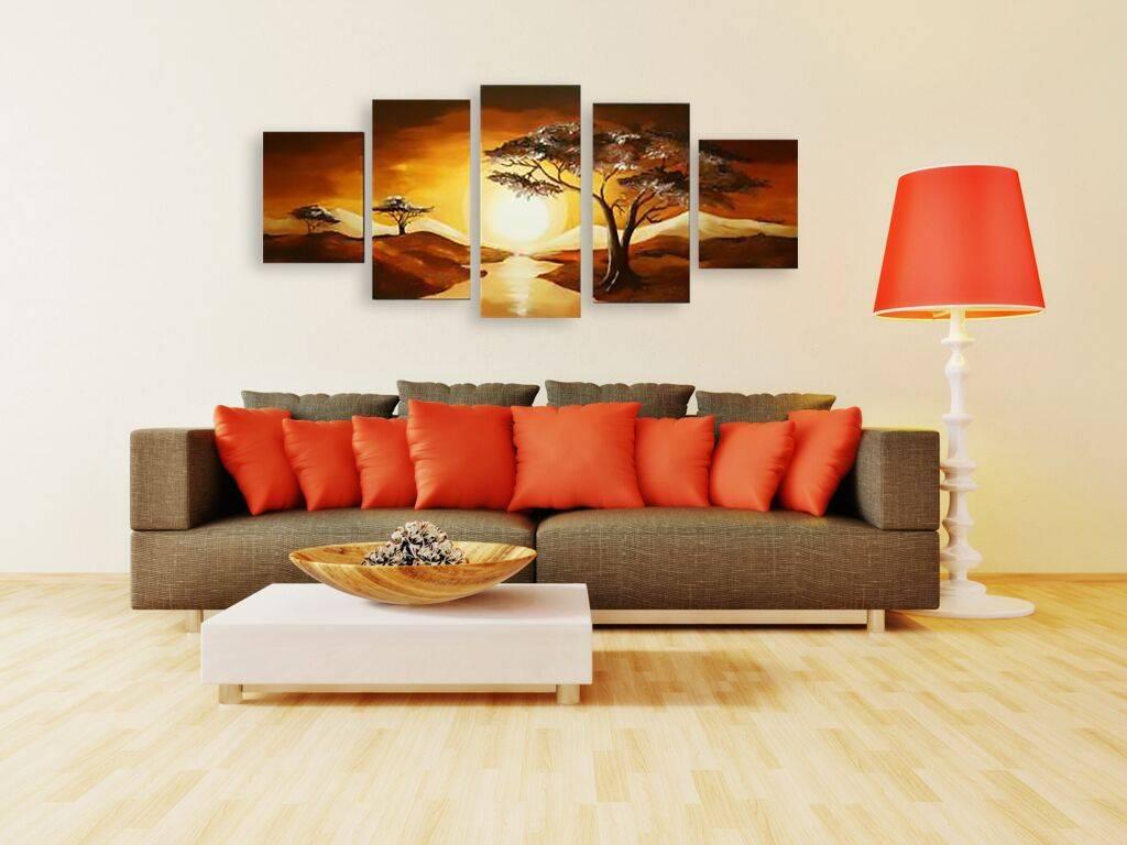 Основные правила развески картин в интерьере