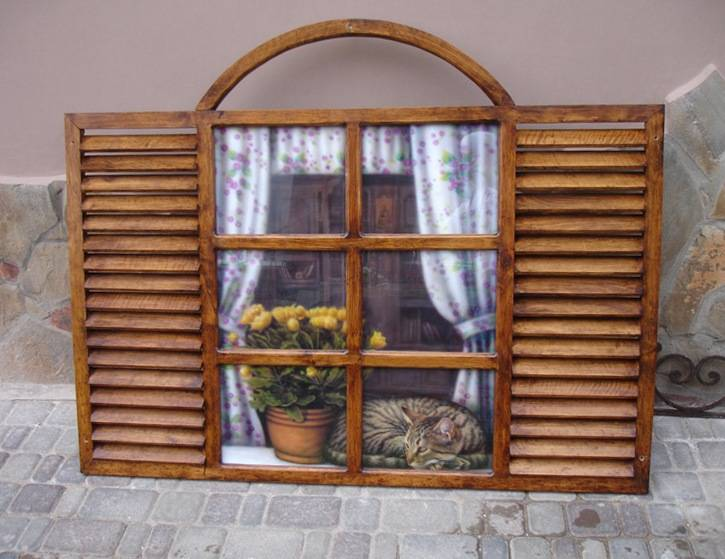 Как создать фальш окно своими руками в интерьере помещения, способы, виды конструкций