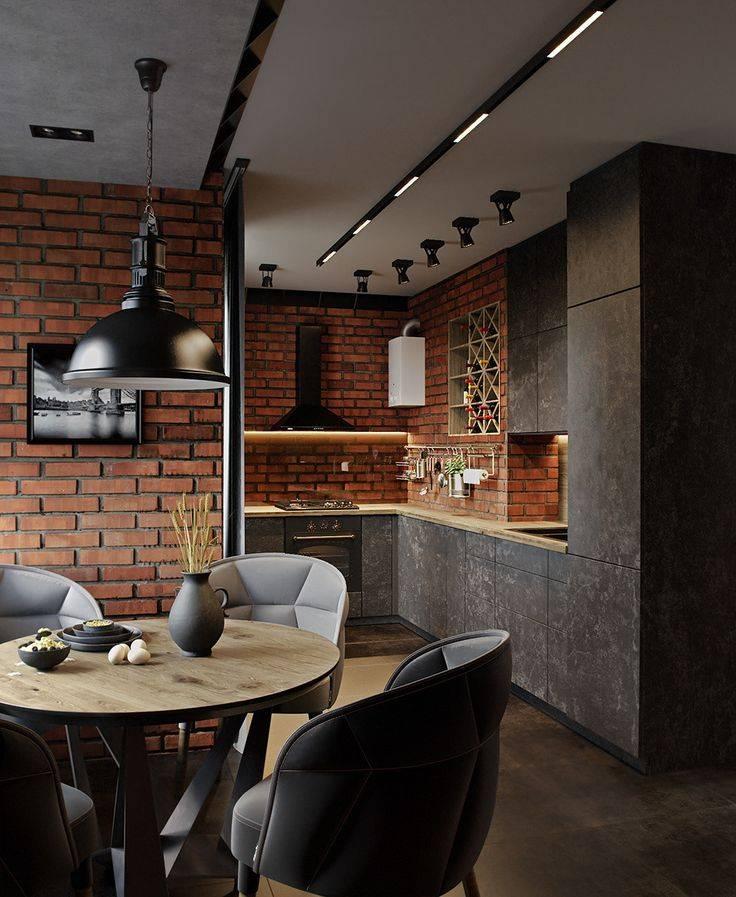 Интерьер кухни в стиле лофт - 90 фото лучших дизайнерских идейкухня — вкус комфорта