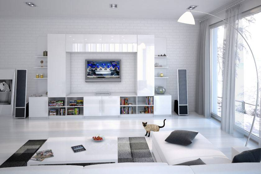 Интерьер маленькой гостиной: дизайн в современном стиле просто и недорого  - 29 фото