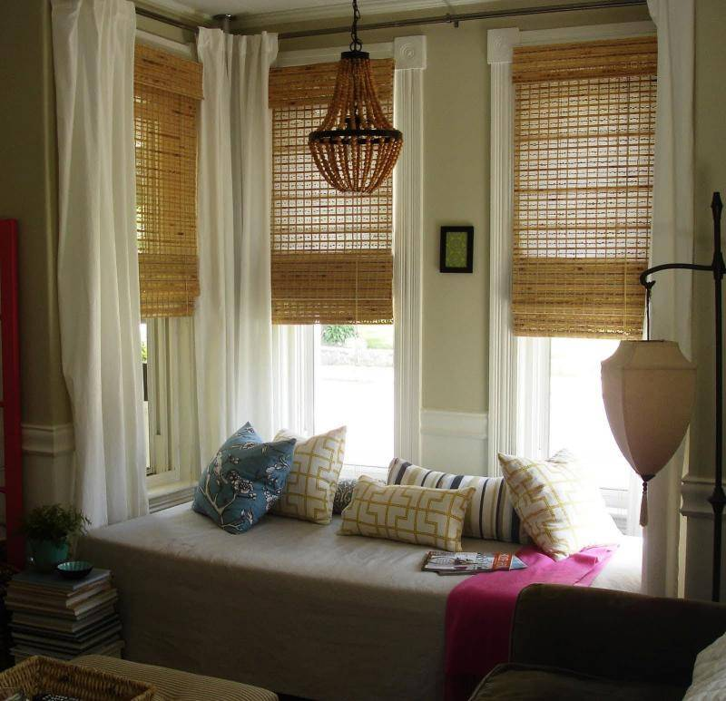 Оформление окна без штор — идеи для декора (23 фото)