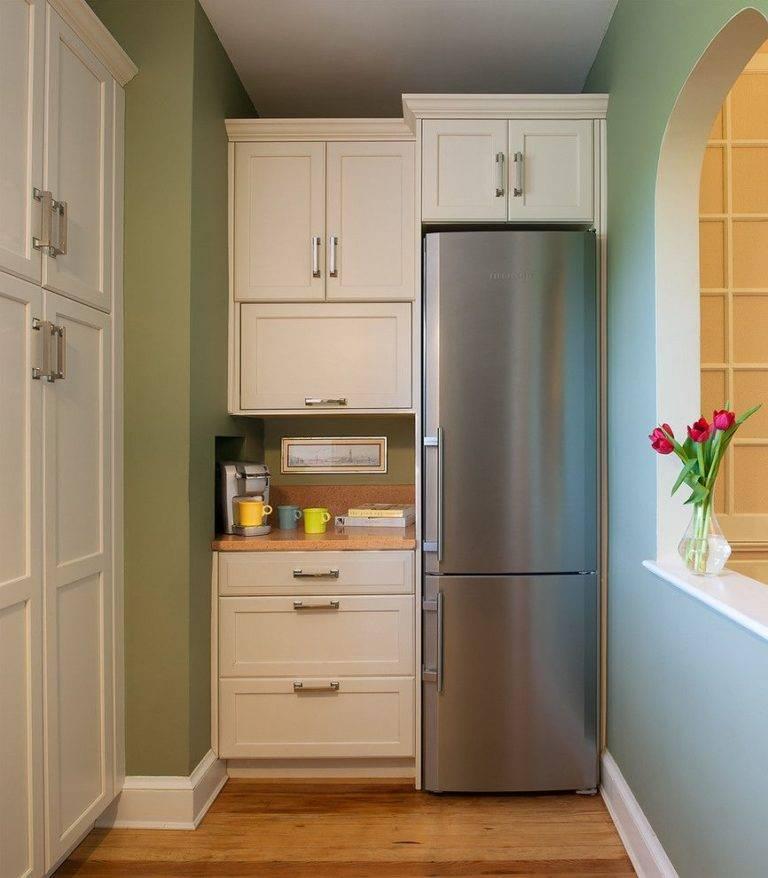 Как спрятать холодильник: 8 гениальных идей