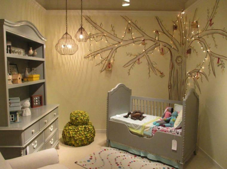 Декор детской комнаты, как покрасить стены в детской комнате в разные цвета  - 31 фото