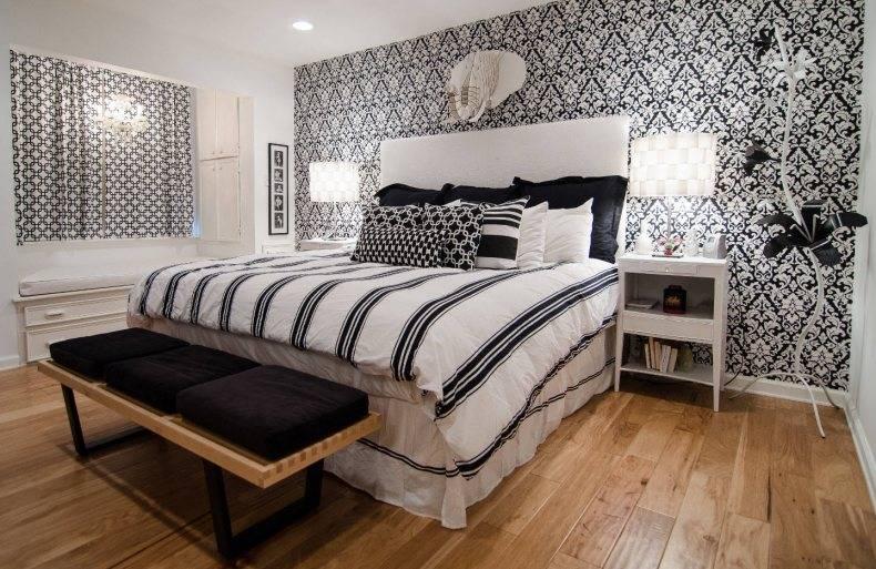Черные обои - нестандартные варианты оформления дома и квартиры своими руками (140 фото)