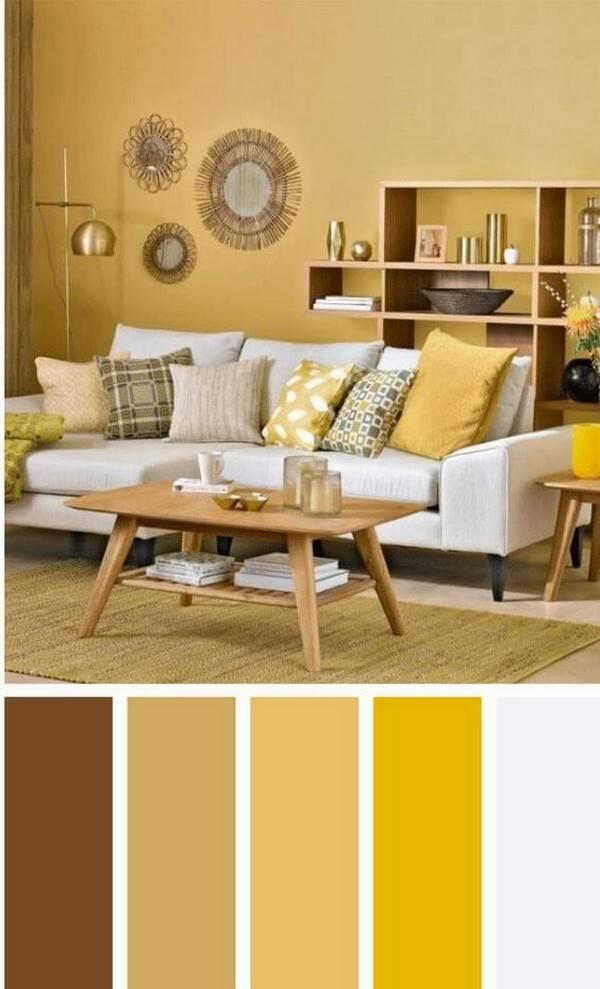С каким цветом сочетается коричневый цвет в интерьере: комната в коричневых тонах и мебель - 42 фото