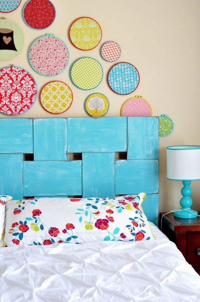 Декор стен своими руками - оригинальные идеи для украшения интерьера