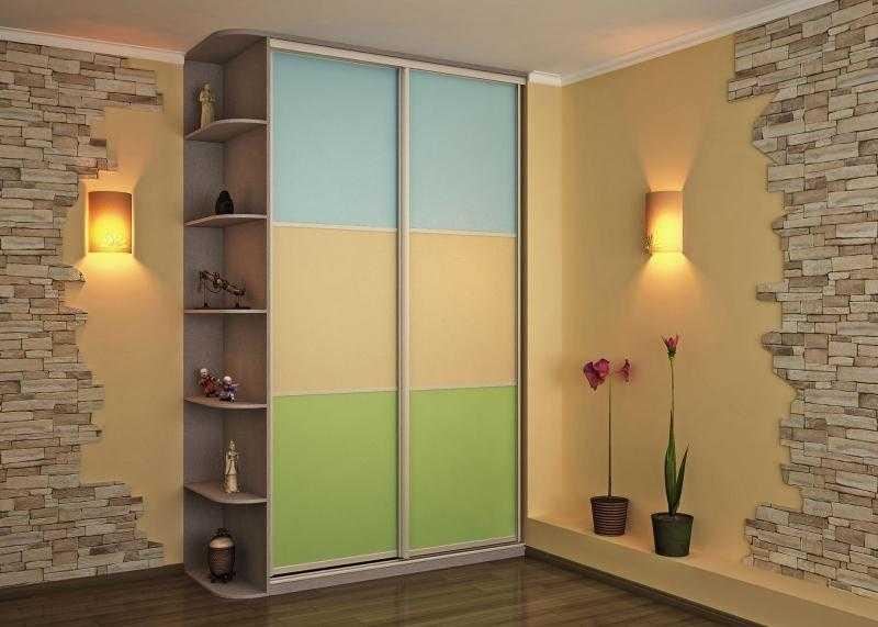 Встроенный шкаф купе в прихожую: современные удобные модели